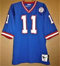 NEW YORK GIANTS PHIL SIMMS MITCHELL & NESS THROWBACK JERSEY