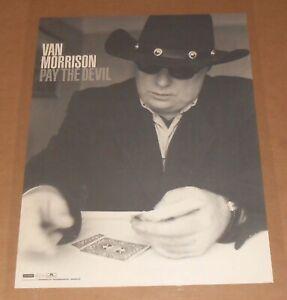 Van Morrison Pay the Devil Poster Original Promo 24x18