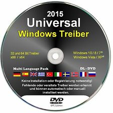 Windows Treiber, deutsch  -  8.1 GB  Universal Treiber Software