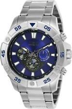 Invicta 23498 Pro Diver Ocean Cruiser Tachymeter Day Date Blue Dial Men's Watch