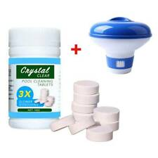 "Swimming Pool 5"" .Floating Chemical Dispenser Floater Chlorine Tablet Cleaning"