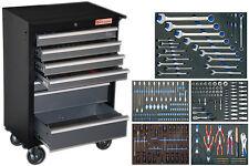 Werkstattwagen bestückt Werkzeug Wagen gefüllt Kfz Auto Werkstatt mit Werkzeugen