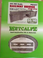 Metcalfe PO247. Railway Bridge. Stone Style.  00 Gauge.
