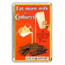 CADBURY'S CHOCOLATE - GLASS & a HALF BAR  ADD RETRO -JUMBO COLOUR Fridge Magnet
