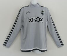 Adidas SEATTLE SOUNDERS USA MLS Soccer TRAINING CLIMACOOL Jersey Top Shirt~Men L