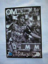 Orig.PRG    UEFA Cup  2008/09   OLYMPIQUE MARSEILLE - AJAX AMSTERDAM  1/8 FINALE