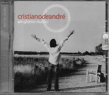 """CRISTIANO DE ANDRE' - RARO CD FUORI CATALOGO CELOPHANATO """" UN GIORNO NUOVO """""""