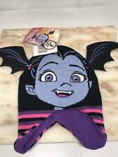 One Size Youth Toddler Girls Disney Junior Vampirina 2-Piece Set Hat & Mitten