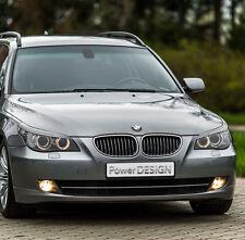 Eyebrows for BMW 5 E60/E61 2003-2010  headlight eyelids lids ABS Plastic