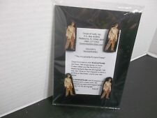 ELVIS PRESLEY GOLD LAME SUIT MAGNAFRAME  4-ELVIS MAGNETS & PICTURE FRAME