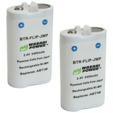 Wasabi Power Battery for Flip ABT1W and Flip UltraHD 4GB Video Camera (2-Pack)