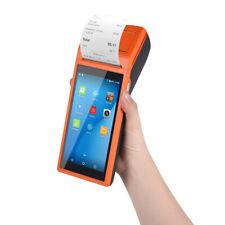 Handheld Android Pos Terminal BT Receipt Printer 5.5 Inch Touchscreen 3G 1Pcs