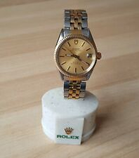 Mens 3/4 Size Stainless Steel Quick Set Rolex Tudor Prince Oysterdate Automatic
