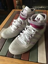 Adidas Concord Basketball Trainers Hi Tops Hi top Pink UK Size 6.5 Shoes