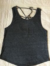 Victoria's Secret - Pink - Large - Tank Top - Polyester Cotton And Flax Blend
