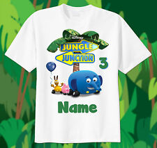 Jungle Junction Custom tshirt PERSONALIZE Birthday gift, Add Name and Age