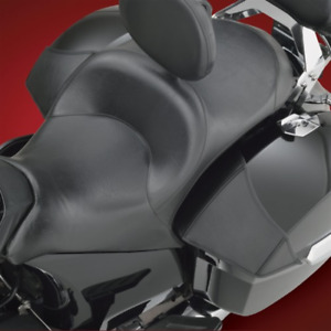 Victory Mini Saddlebag Lid Bra Left & Right Tapered Design Tailored Fit Black