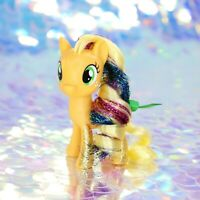 My Little Pony APPLEJACK Apples Orange Glitter Tinsel G4.5 FiM MLP Movie BD684