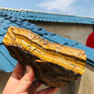 3.68LB  Natural tiger's-eye Rough Raw Stone Rock Specimen Madagascar609