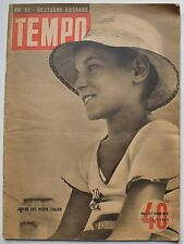 Magazine TEMPO N° 52 de 1942