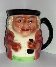 Vintage 1940s Shorter & Son Toby Mug Pink Cup