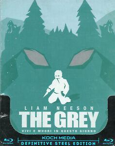 THE GREY - Blu-Ray Steelbook - Liam Neeson..
