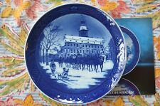 1992 Royal Copenhagen The Royal Coach Plate