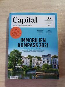 Capital Mai 2021 Heft 05/21 Magazin Immobilienkompass 2021