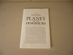 "Magazine-Map-Wall Chart-Poster-PLANET OF THE DINOSAURS-31"" x 20"""