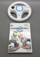 Nintendo Wii Mario Kart Game with Steering Wheel B03