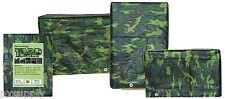 pe camo tarp woodland camouflage reversible grommets 16' x 20' fox 82c-1620
