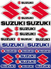 22 stickers autocollant tuning Suzuki 39x29 cm