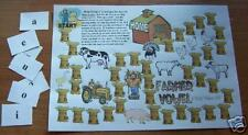 FARMER VOWEL GAME & SONG Teacher Resource PHONICS FUN
