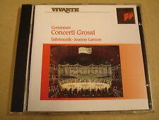 CD SONY CLASSICAL / GEMINIANI - CONCERTI GROSSI / TAFELMUSIK - JEANNE LAMON