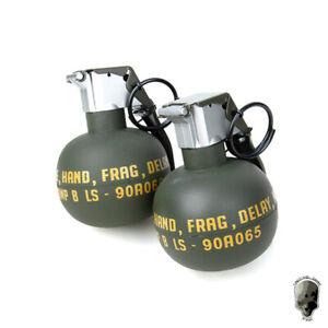 TMC M67 Grenade Model Dummy Frag Gren Quick Release Vest Stun Gear Cosplay 2PCS
