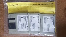 HP Hewlett Packard DeskJet 850C Original Macintosh-Druckertreiber Disketten