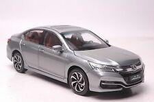 Honda Accord 2016 car model in scale 1:18 silver