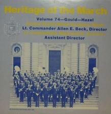 United States Naval Academy Band (VINYL LP) Heritage of the Mars: Volume 74-Ex/Presque comme neuf