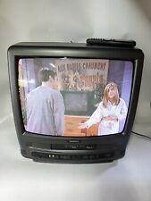 "Symphonic 20"" TV/VCR CRT VHS Cassette Player Recorder Combo SSC199V Remote"