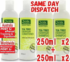 Shampoo 250ml x 2 + Conditioner 250ml x 2 Thursday Plantation Tea Tree Everyday