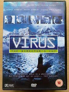 Virus DVD 1980 Kinji Fukasaku Outbreak Thriller Movie w/  Olivia Hussey