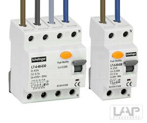 💡 Fehlerstromschutzschalter FI-Schalter RCD 2,4-polig 25,40,63A Installation 💡