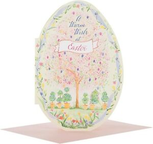 "Hallmark Easter Card Egg Design "" A Warm Wish At Easter"""