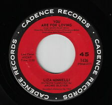 LIZA MINELLI - You Are For Loving :  1963 CADENCE Stock Copy 45 !!