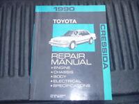 OEM GENUINE 1990 Toyota Cressida Factory Service Shop Repair Manual RM152U