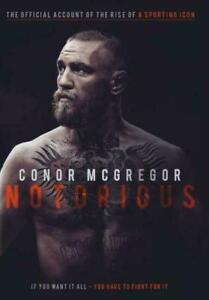 Conor McGregor: Notorious (DVD, 2017) New & Sealed