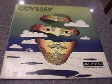 "Odyssey ""From Altec"" GATEFOLD A&M AUDIOPHILE TEST LP Experience Altec, STRAWBS"