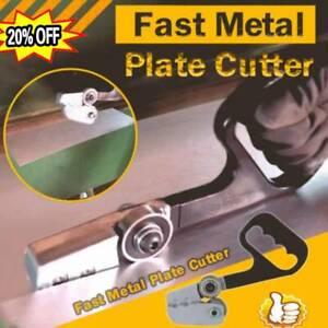 Fast Metal Plate Cutter Hand Drill Wood Saw Cutting Machine Dual-purpos Tool New
