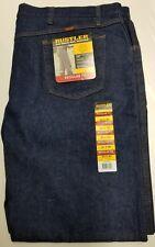RUSTLER Jeans Men's 50 x 30 Regular Straight Leg Extra Rugged Denim Heavy duty