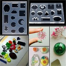 DIY 12 Designs Cabochon Silicone Mold Mould For Resin Jewelry Making Craft